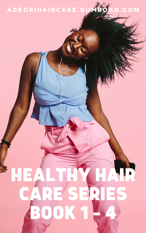 Healthy Hair Care Series Book 1 - 4, black friday sale