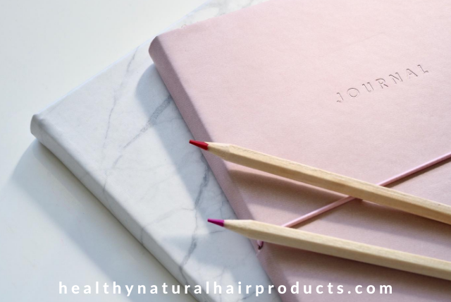 hair journal and planner