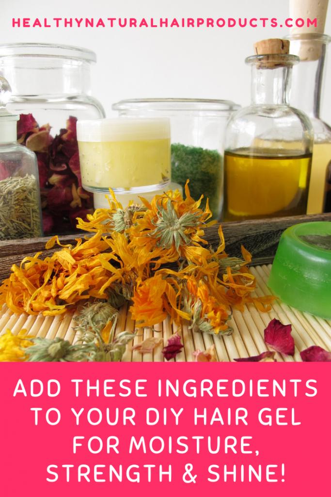 Best ingredients for DIY hair gel