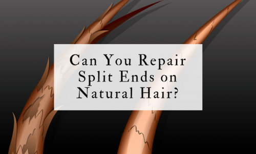 Can You Repair Split Ends on Natural Hair?