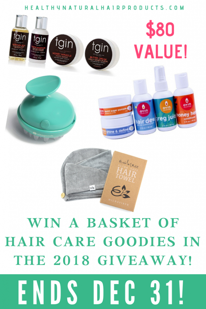 natural hair care giveaway. worth $80