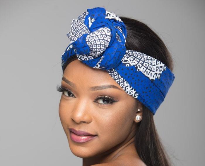 African print ankara headwrap