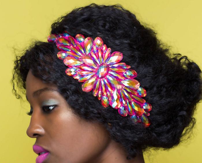 hair accessory Iridescent Jewel Headband