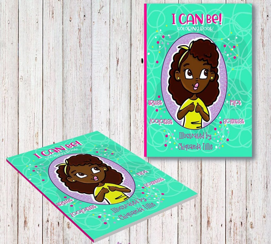 christmas gifts for natural kids, I Can Be- Coloring Book
