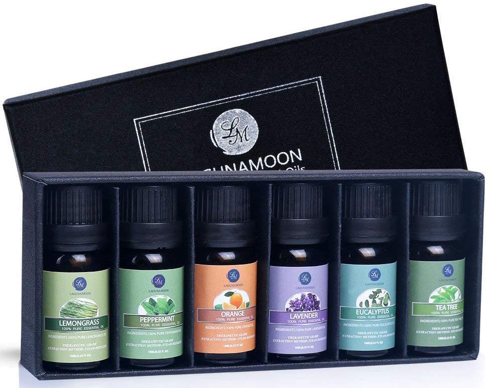 gifts for hair lovers, Lagunamoon Essential Oils Gift Set