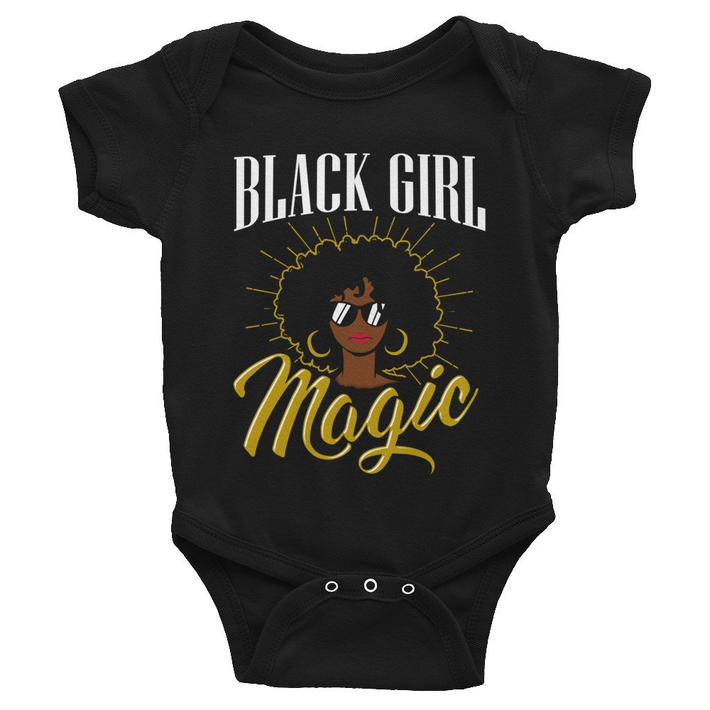 natural hair gifts for christmas, Black Girl Magic Infant Onesie