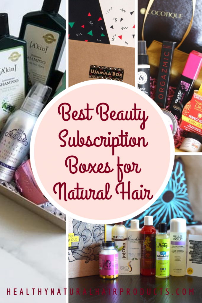 Best Beauty Subscription Boxes for Natural Hair