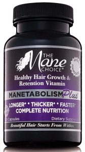 The Mane Choice Manetabolism Plus Healthy Hair Growth Vitamins