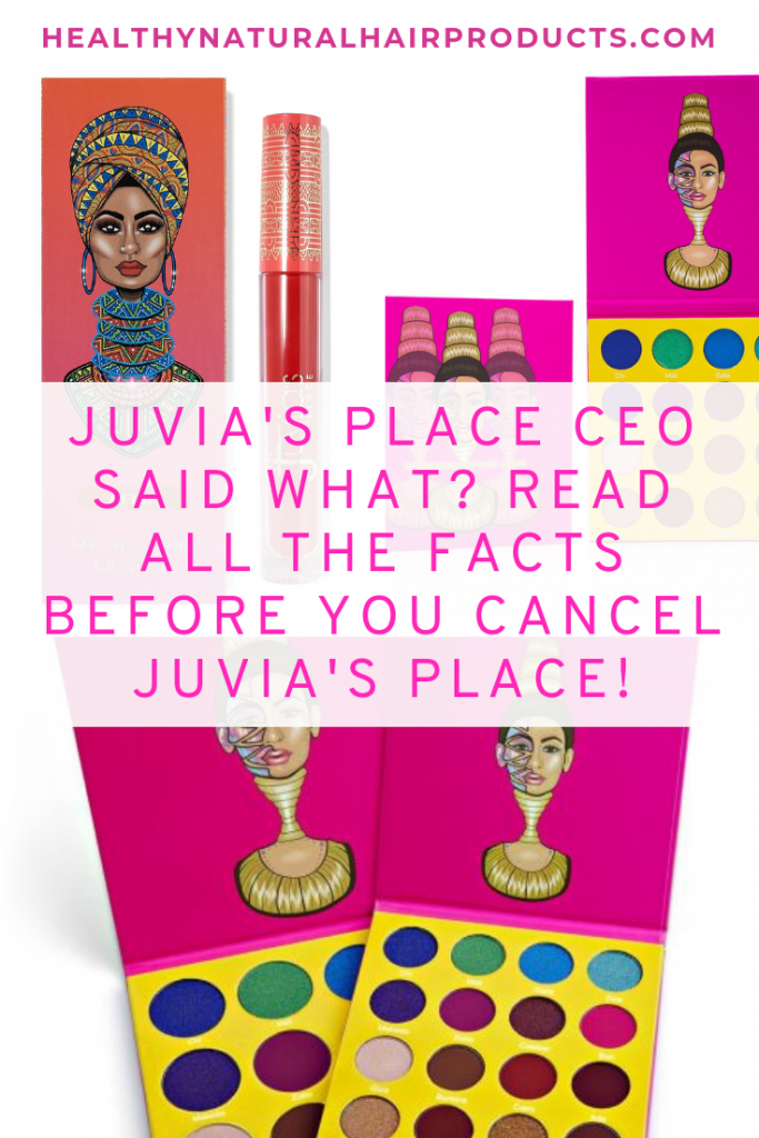 Read this before you cancel Juvia's place, black owned business drama