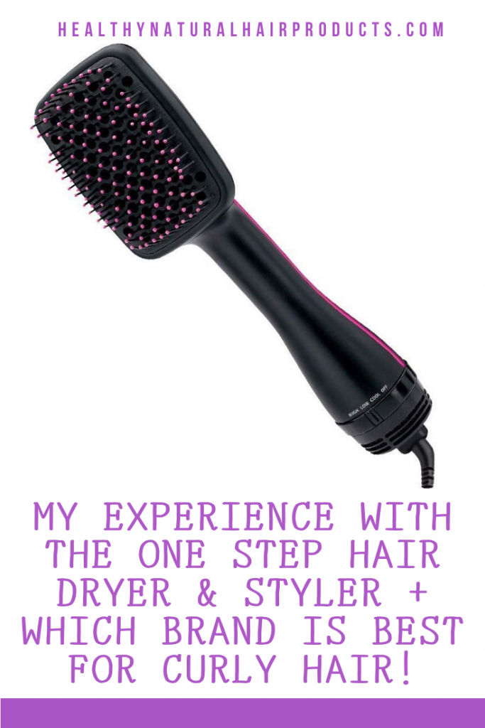 One Step Hair Dryer and Styler Review