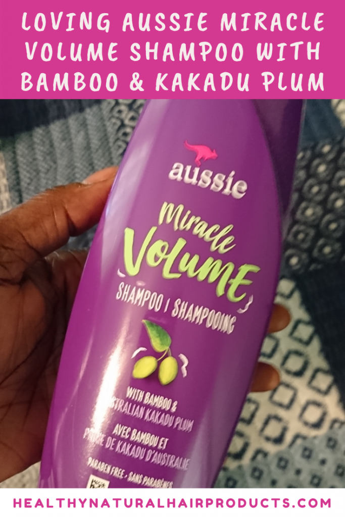 Aussie Miracle Volume Shampoo with Bamboo and Australian Kakadu Plum