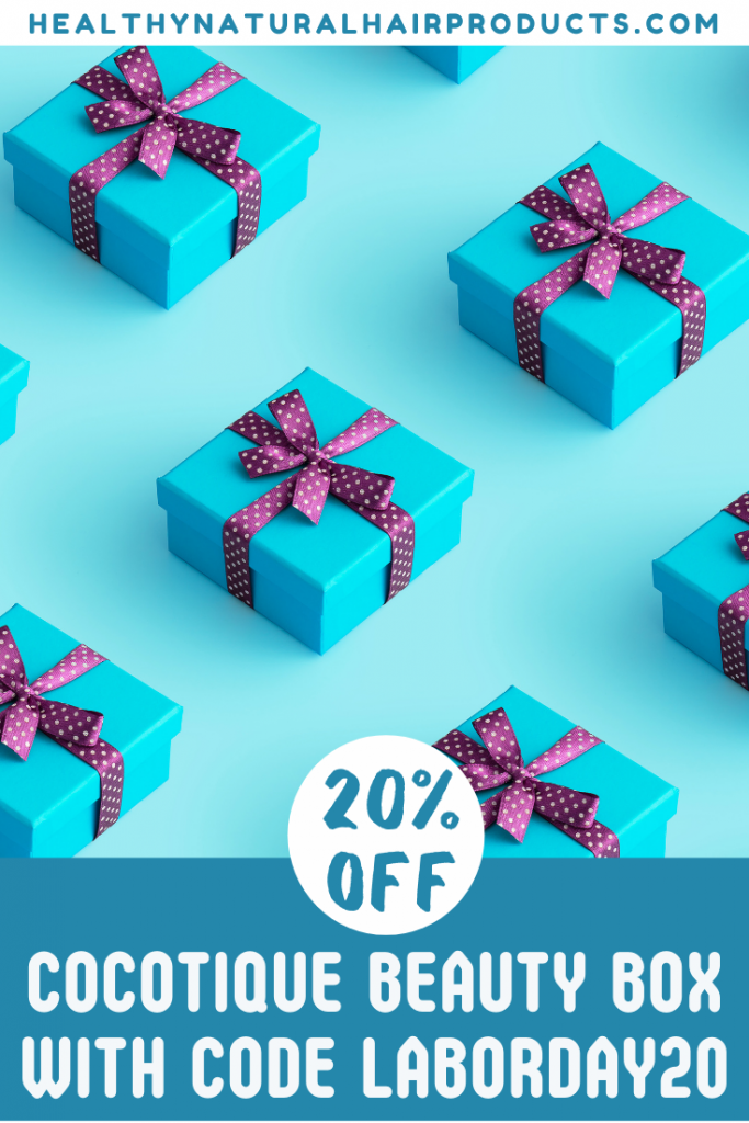 20% Off in Cocotique Labour Day Sale