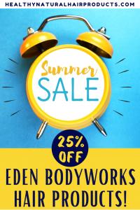 25% off eden bodyworks summer sale
