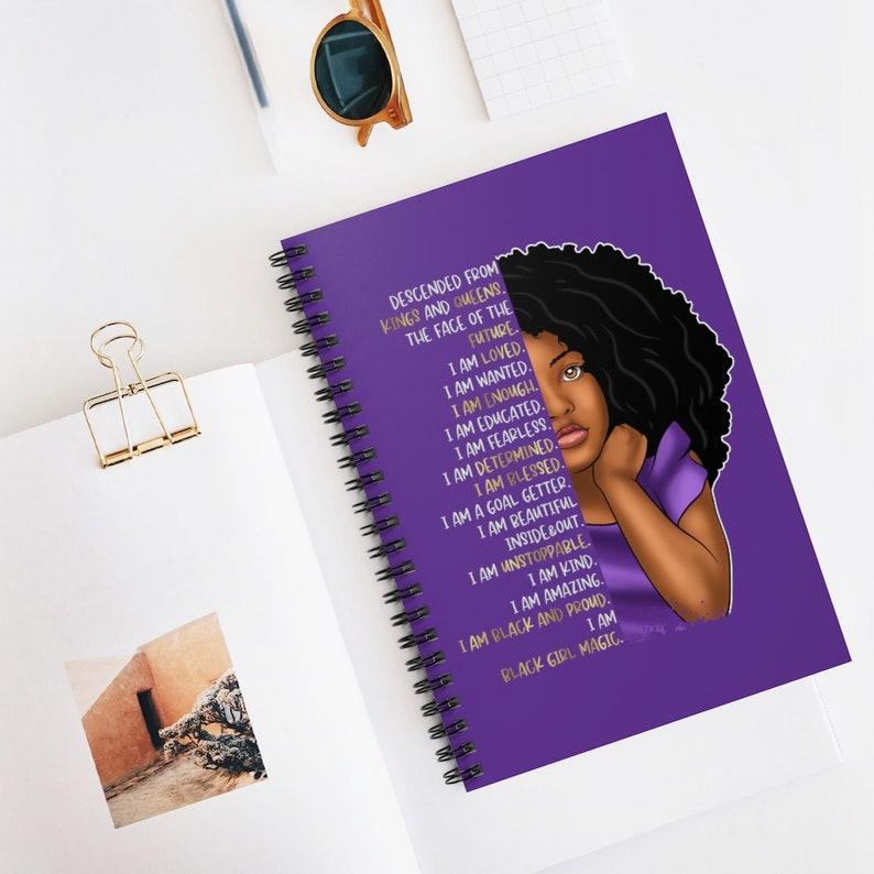 Black Girl Notebook