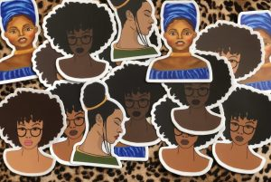 Black Girls Sticker Pack