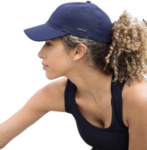 Grace Eleyae Women's Adjustable Satin-Lined Baseball Hat