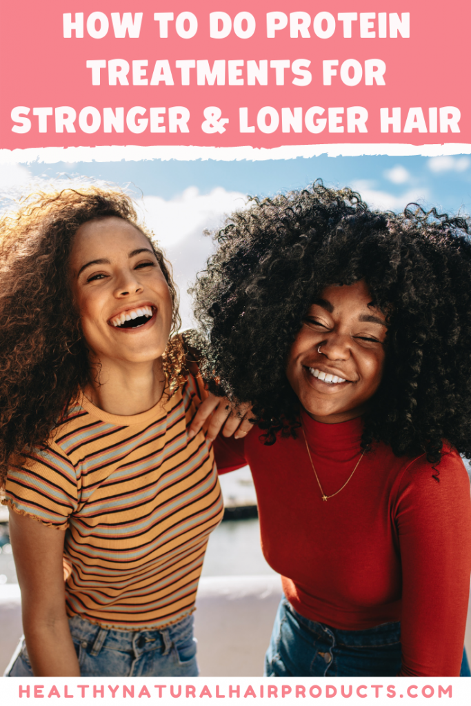 How to do protein treatments for stronger and longer hair
