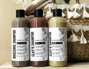 Natural Clay Hair Detox Shampoo Set