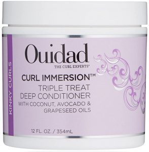 Ouidad Curl Immersion Triple Treat Deep Conditioner