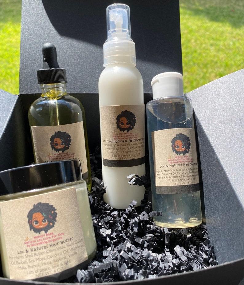 The Loc Box Hair Care Gift Set