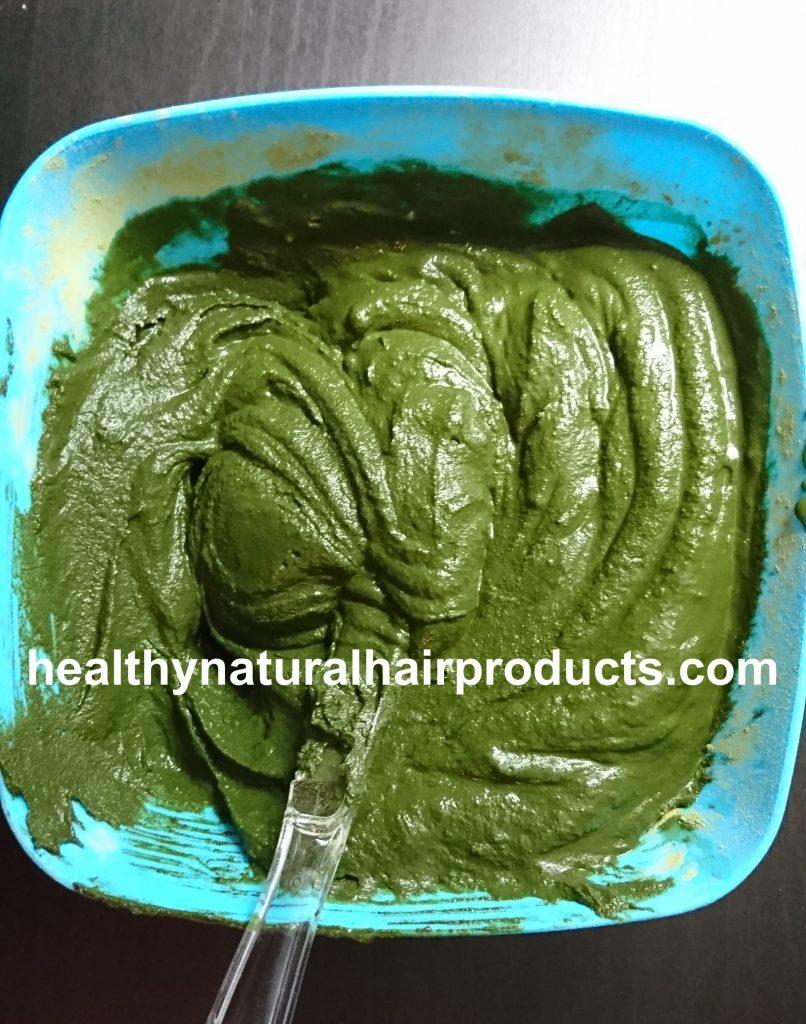 Indigo Powder Mix for Hair Step 2