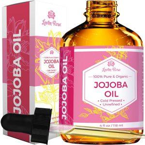Leven Rose Organic Pure Jojoba Oil