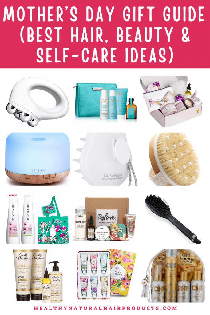 Mother's Day Gift Guide, Best Ideas in Hair, Beauty and Self-care