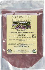 Starwest Botanicals Organic Hibiscus Powder