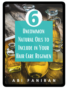 6 Uncommon Natural Oils for Natural Hair Cover 2021